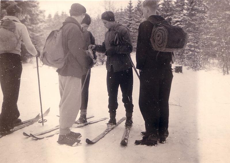 Dörenberg, 18./19. Januar 1955